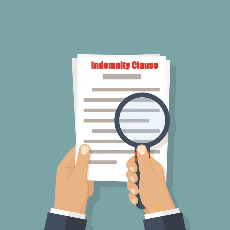 Protection Runs In More Than One Direction Indemnity Clauses And - Non responsibility clause
